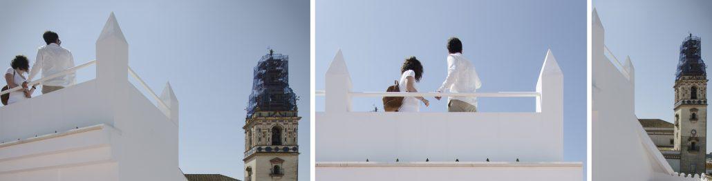 Casa para dos hermanas - vivienda - Antonio Olaya - Ahaus Arquitectos - Moguer - Uglass- Marmol - Porcelanosa