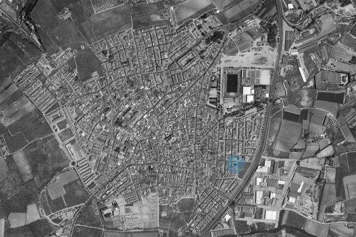 Casa Lusa - vivienda - Antonio Olaya - Henar Herrero - Ana Gomez - Ahaus Arquitectos - Moguer - Mortero cal - Teja azul