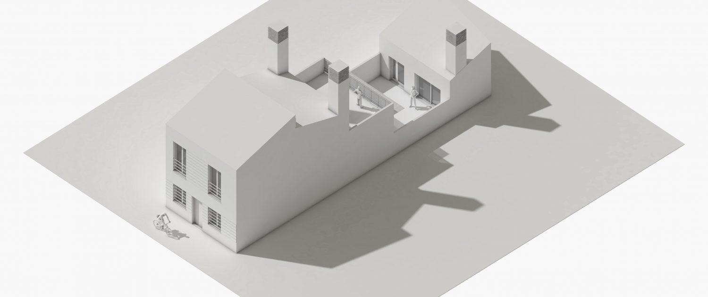 Casa de ayer y de hoy - Maqueta